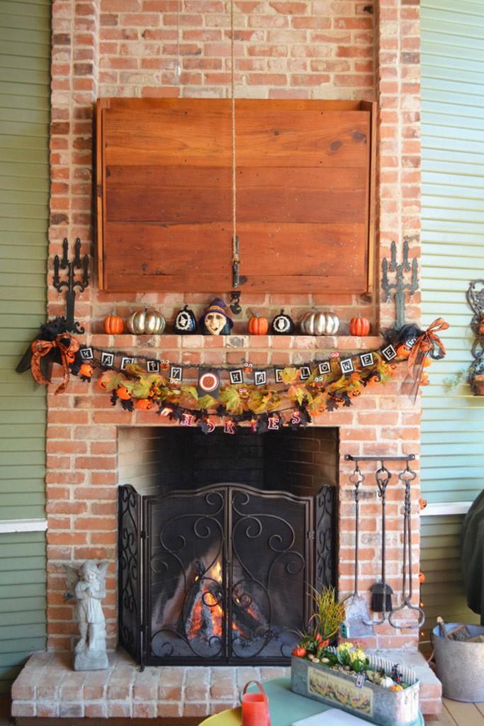 decoración interior para halloween