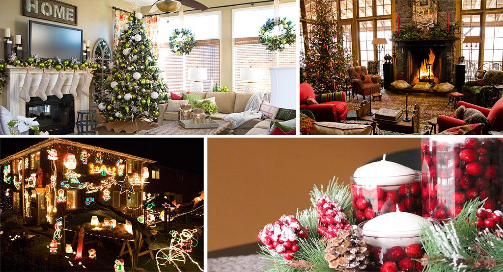 C mo adornar la casa en navidad canexel for Ideas para christmas de navidad