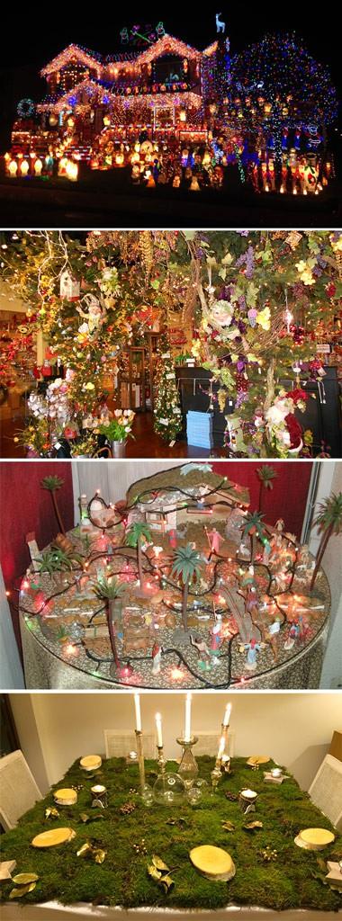 mala decoración de navidad