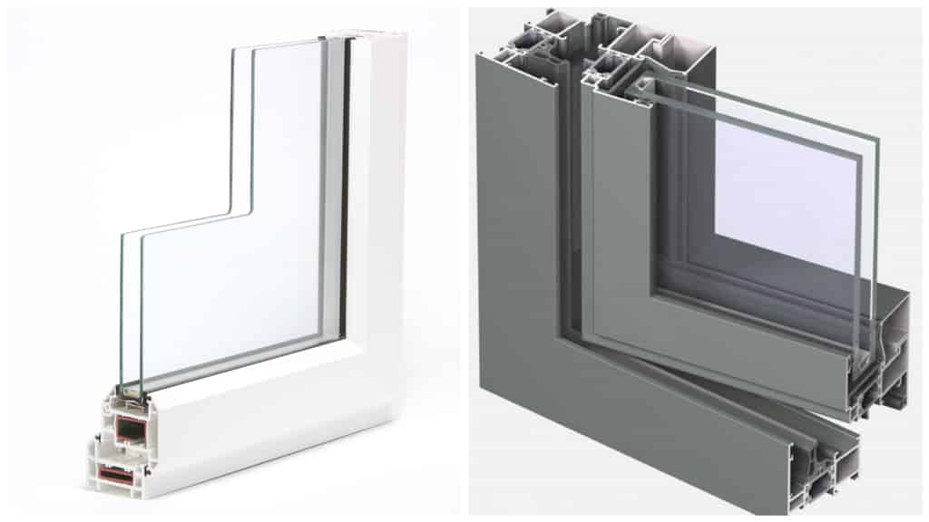 Ventanas de PVC o de aluminio: ventajas y deventajas