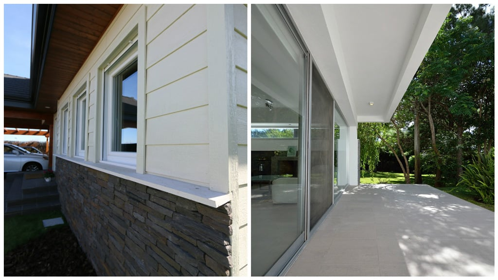 Comparativa estética de ventanas de aluminio y pvc