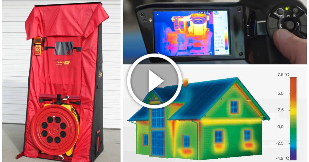 blower door test la prueba para la eficiencia canexel. Black Bedroom Furniture Sets. Home Design Ideas