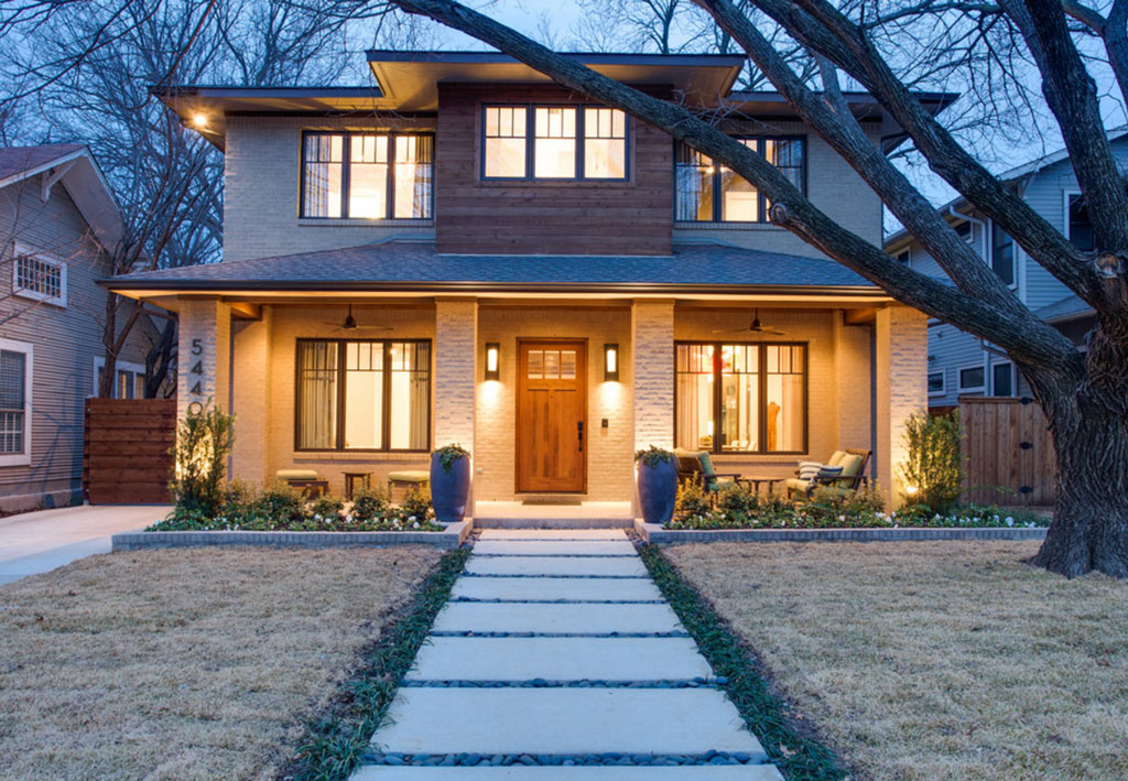 American foursquare un estilo cl sico y funcional canexel for Casas estilo americano interiores