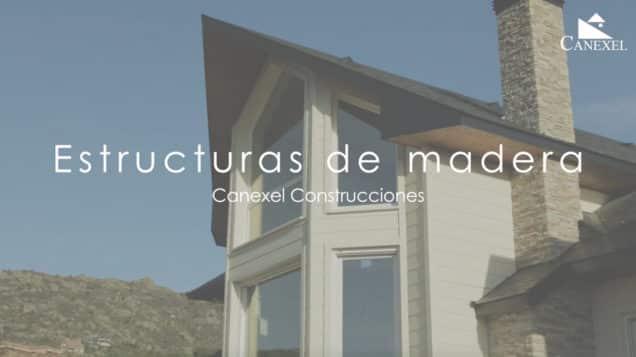 estructura de casas de madera