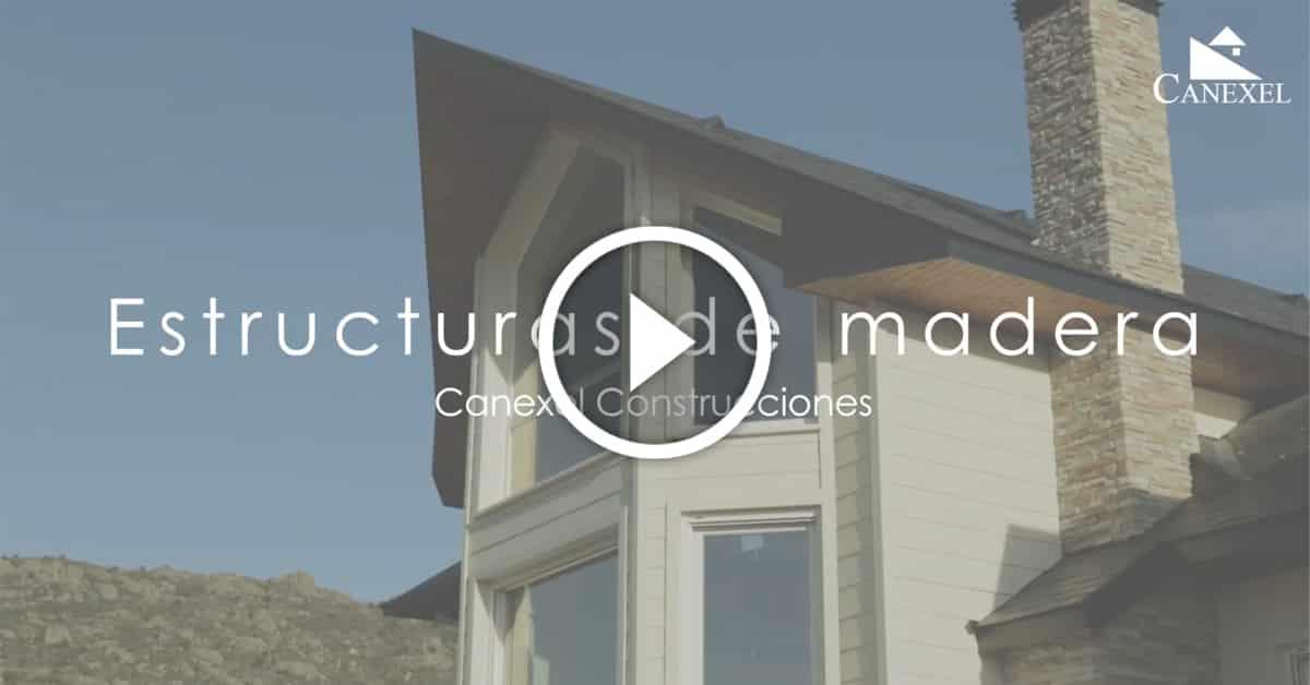 C mo es la estructura de una casa de madera canexel - Estructura casa de madera ...
