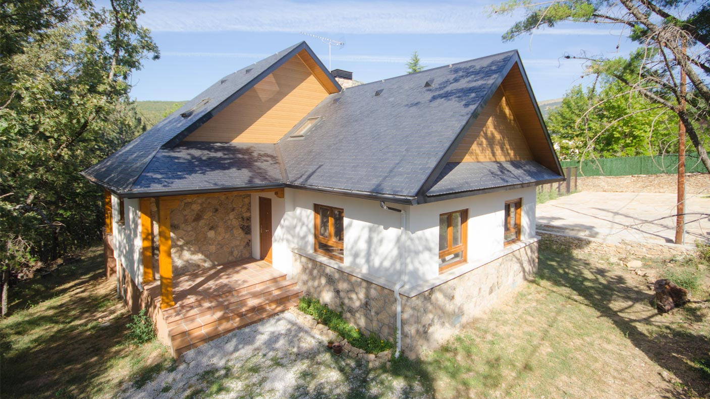 Casa brooks canexel - Casas de madera canadienses en espana ...
