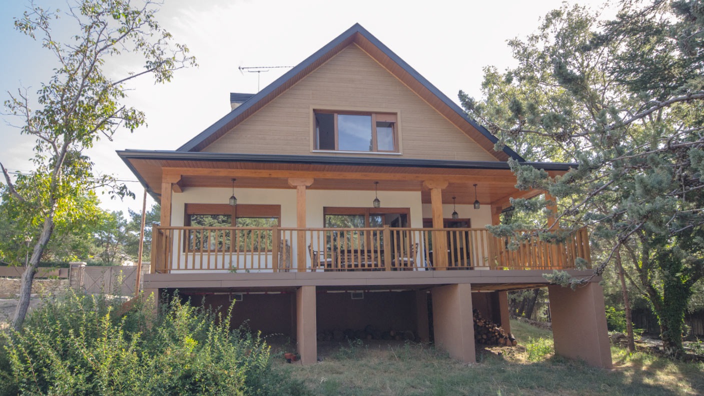 Casa brooks canexel - Canexel casas de madera ...