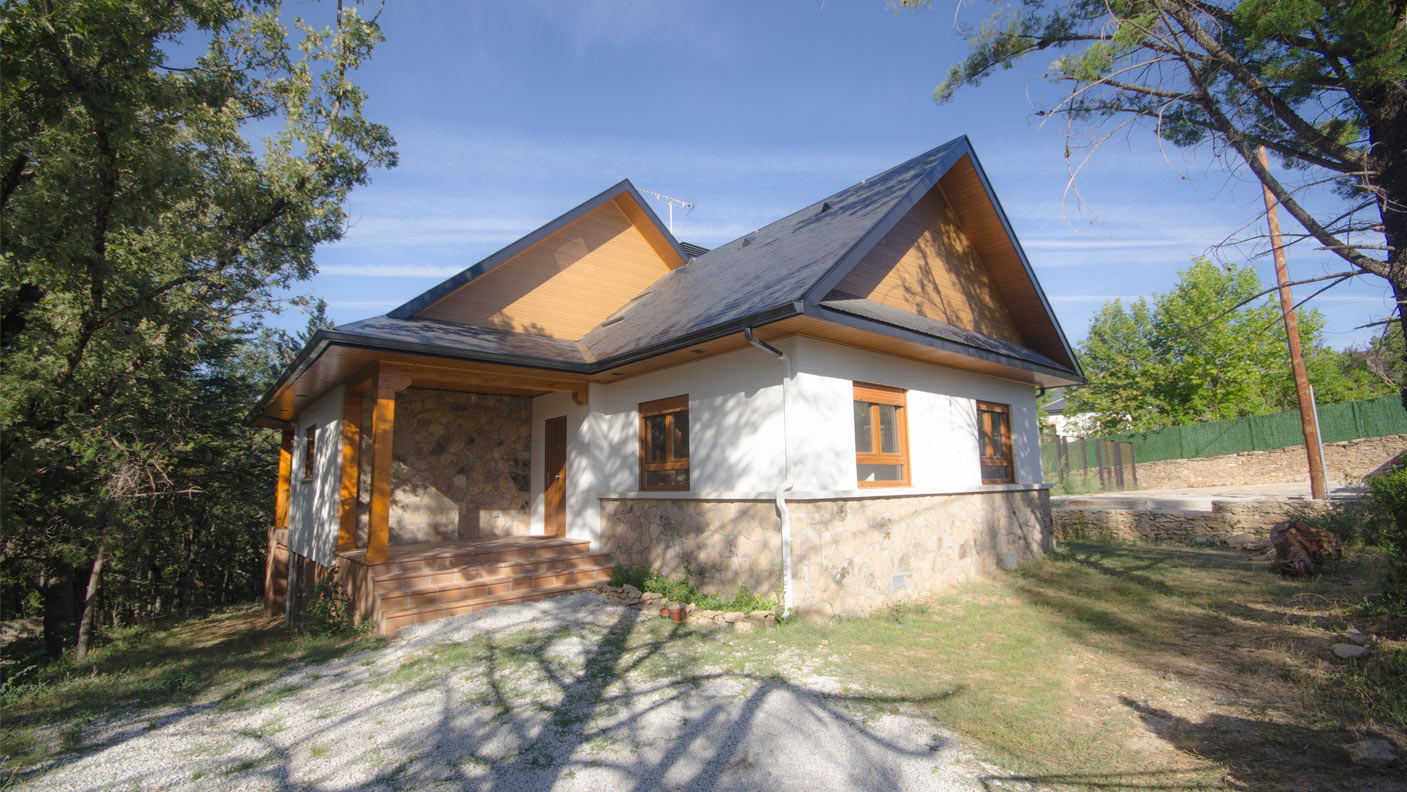Casa brooks canexel for Casas de alquiler en la sierra de madrid
