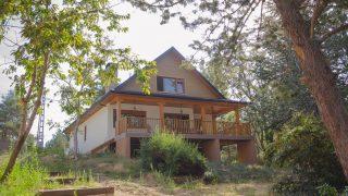 casa serrana de madera