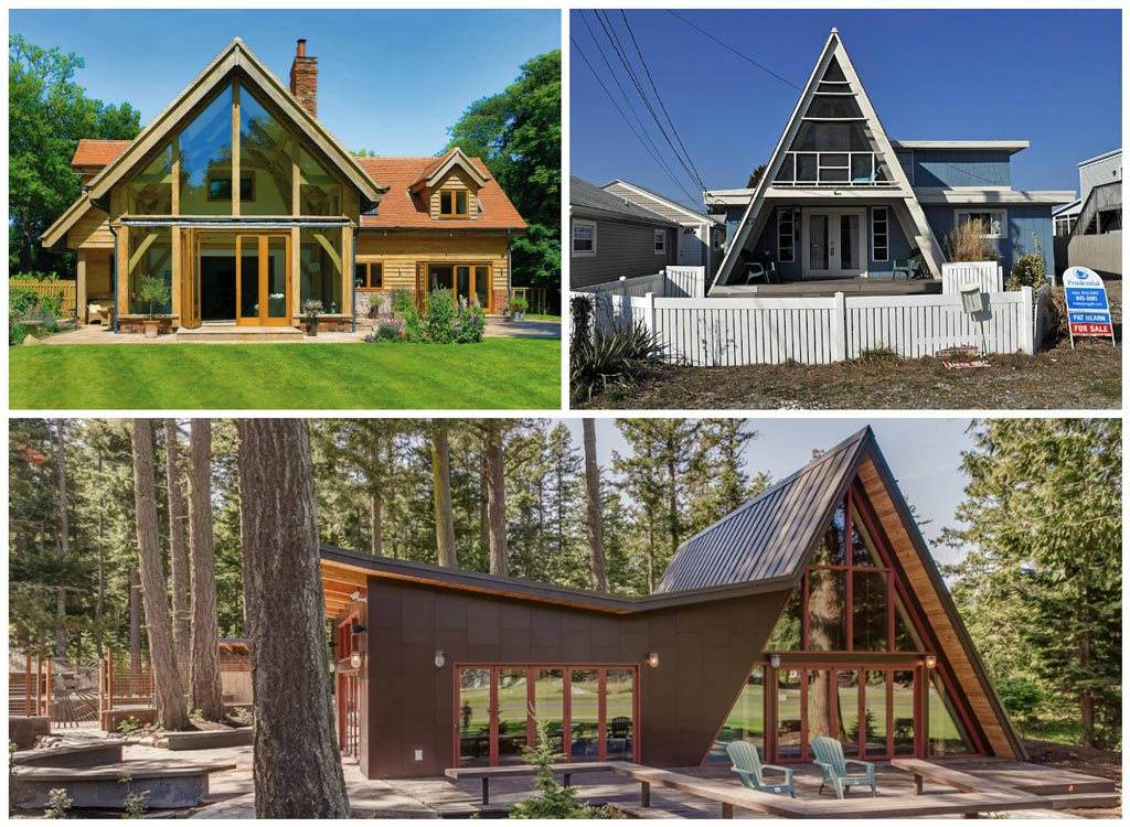 casas de estilo variado