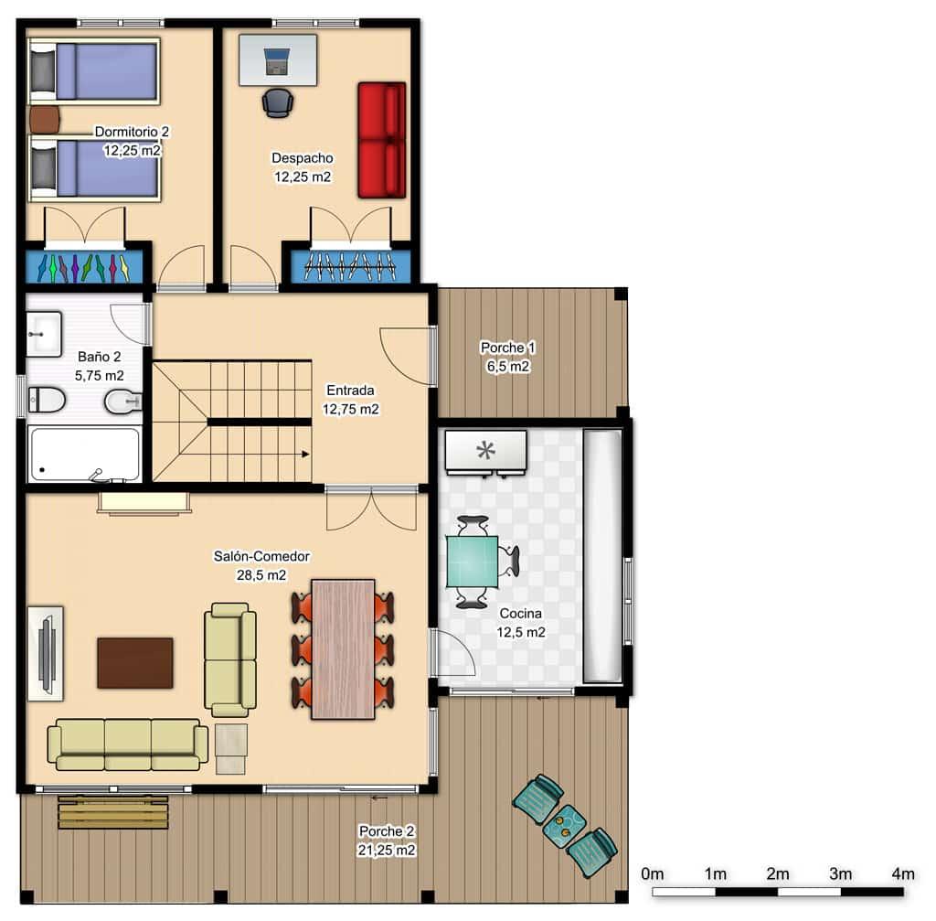 Casa brooks canexel - Casas planta baja ...