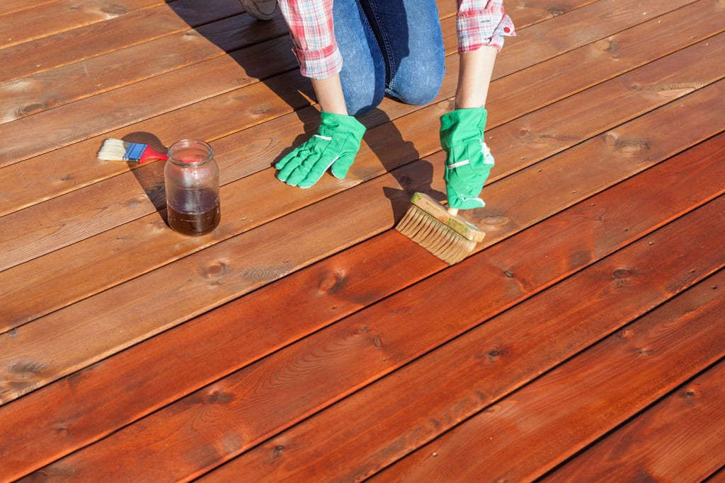 mantenimiento de la madera en exterior