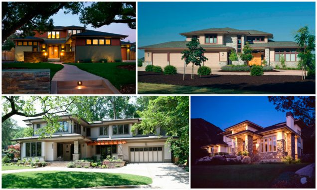 casa americana estilo prairie