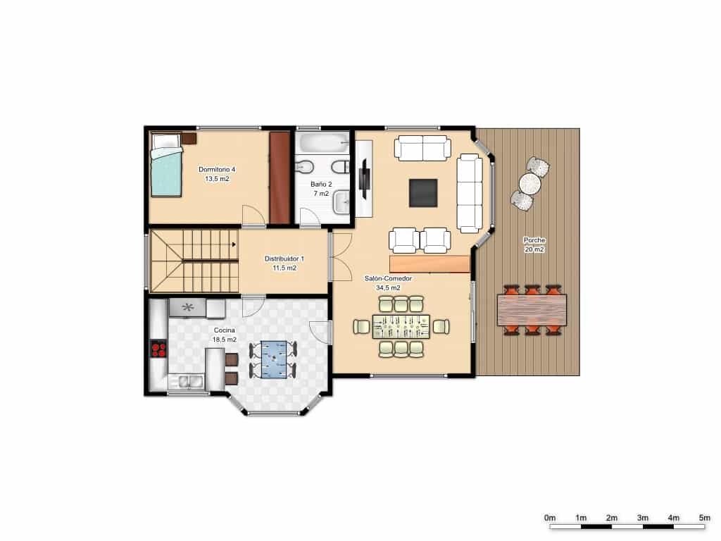 plano de la planta baja de la casa ottawa