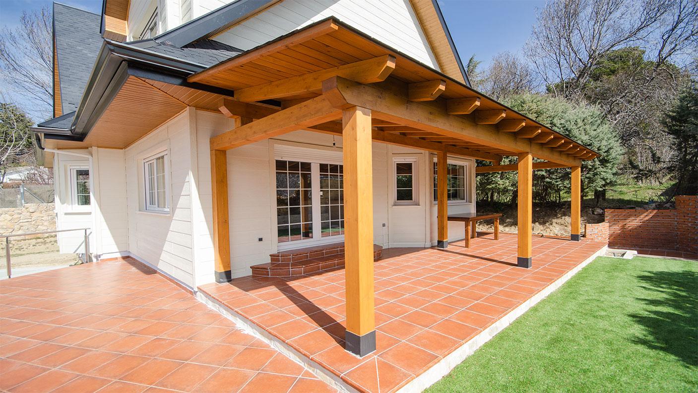 Casa ottawa canexel - Canexel casas de madera ...