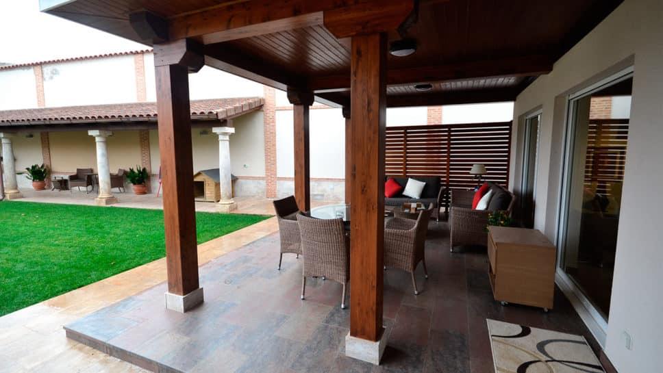 Fotos Porches Rusticos Cool Back Porch With Fotos Porches Rusticos