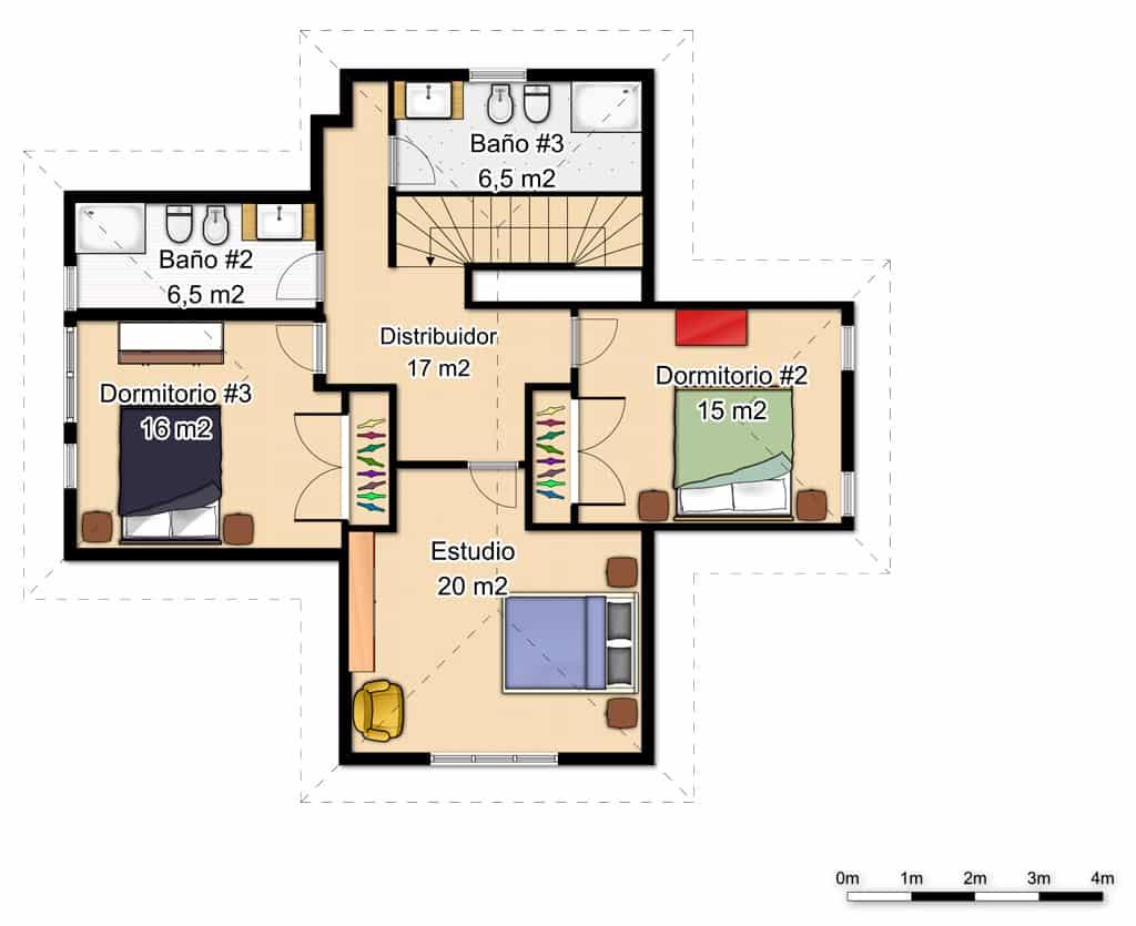 Casas de una planta rusticas casa de varias plantas y de - Casas de una planta ...