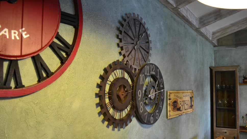 relojes de tipo industrial