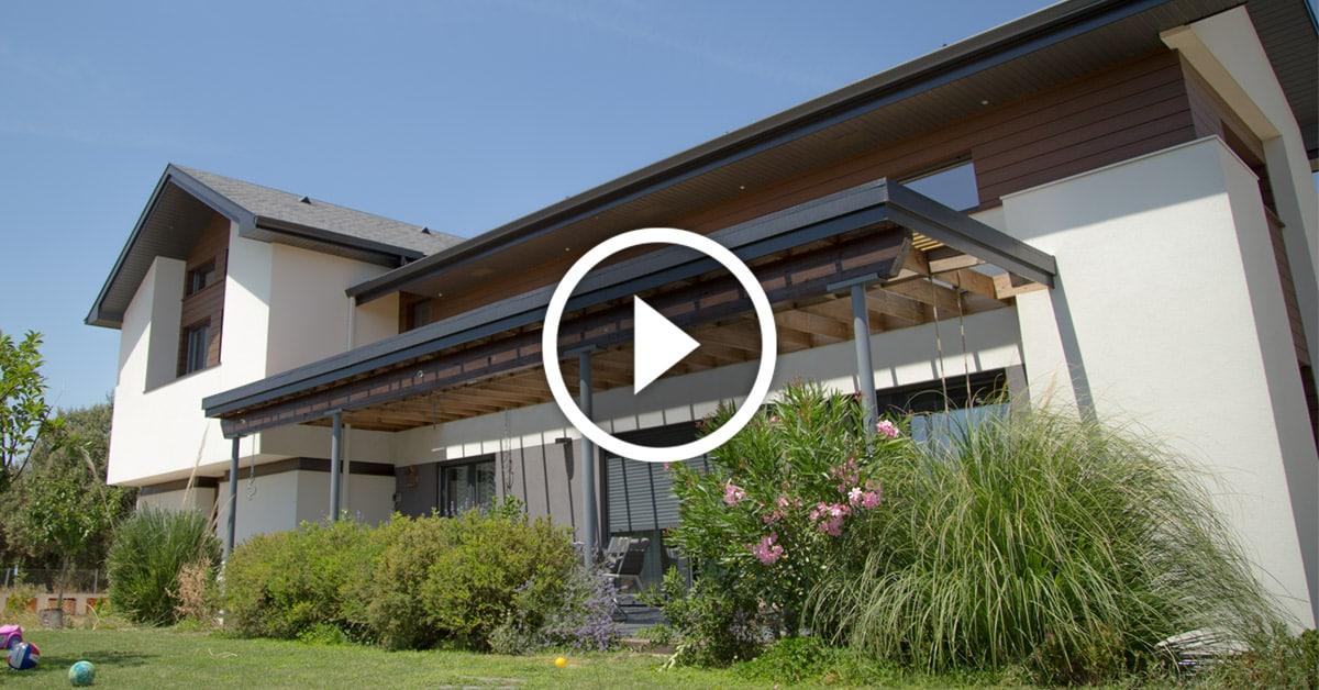 Reportaje de telemadrid en la casa marsella port canexel for Canexel construcciones