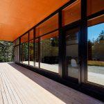 deck casa de madera