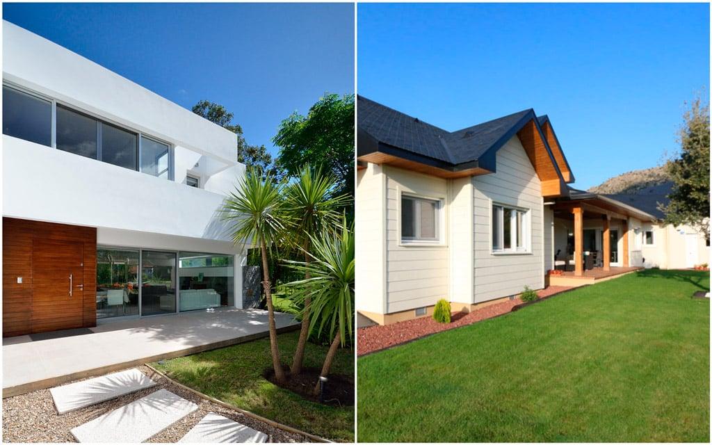 casa clásica o moderna
