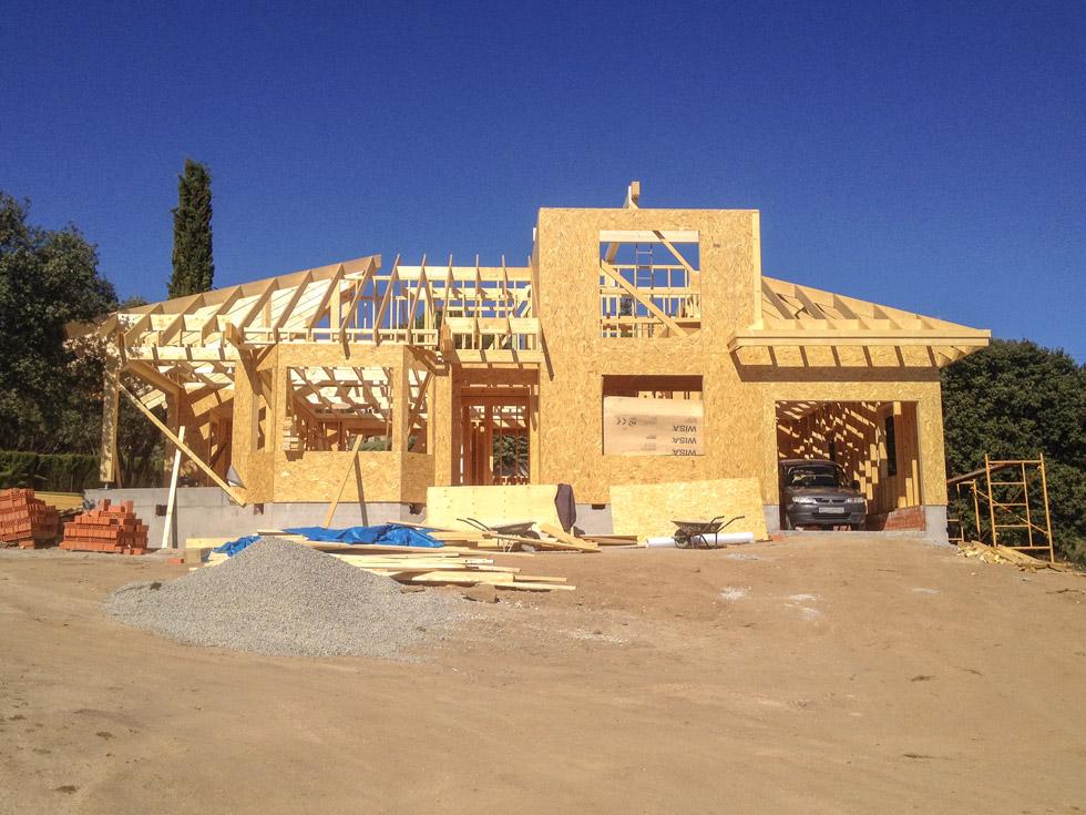 Estructura de casa de madera estructura de casa de madera - Estructura casa madera ...