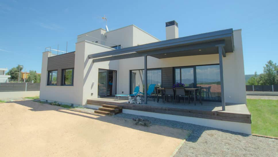 Casa terrace canexel for Viviendas modernas de una planta