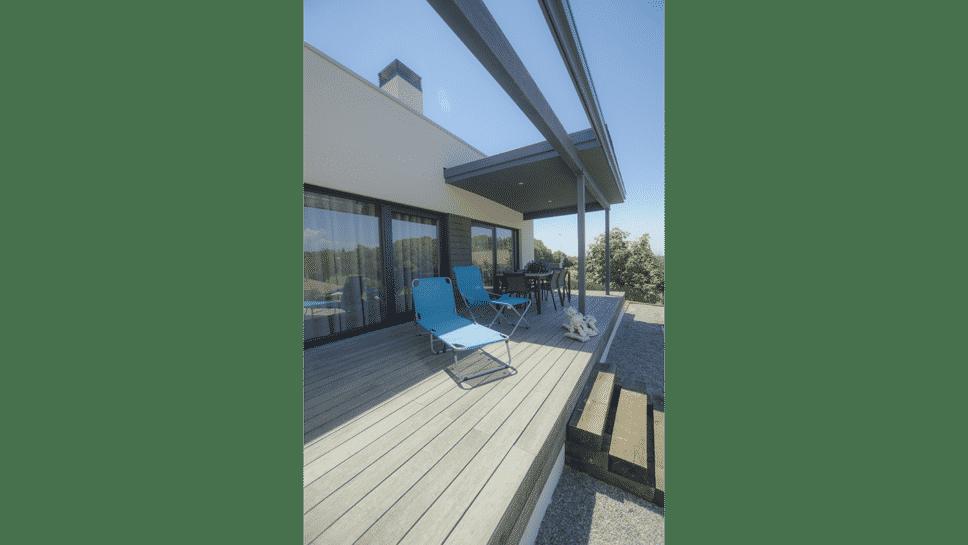 deck con porche