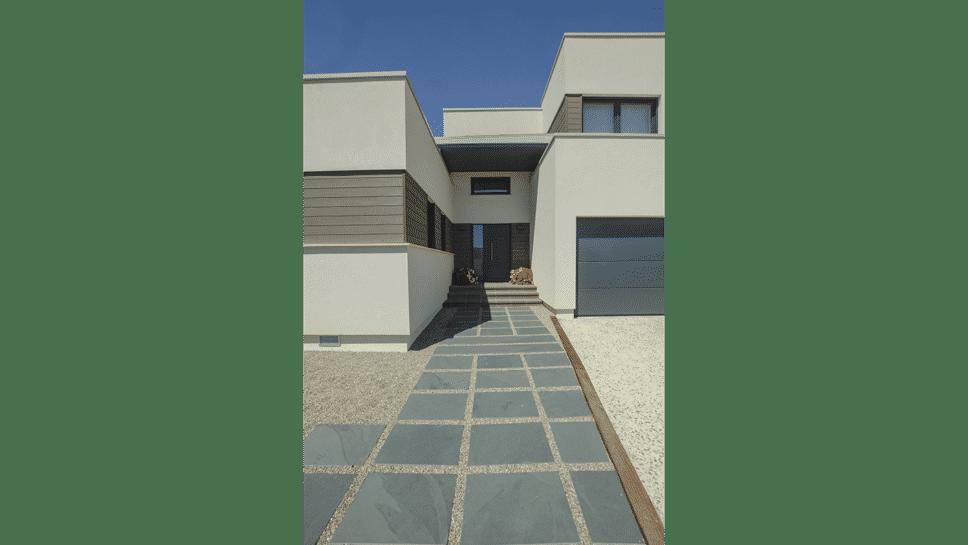 entrada casa mdoerna