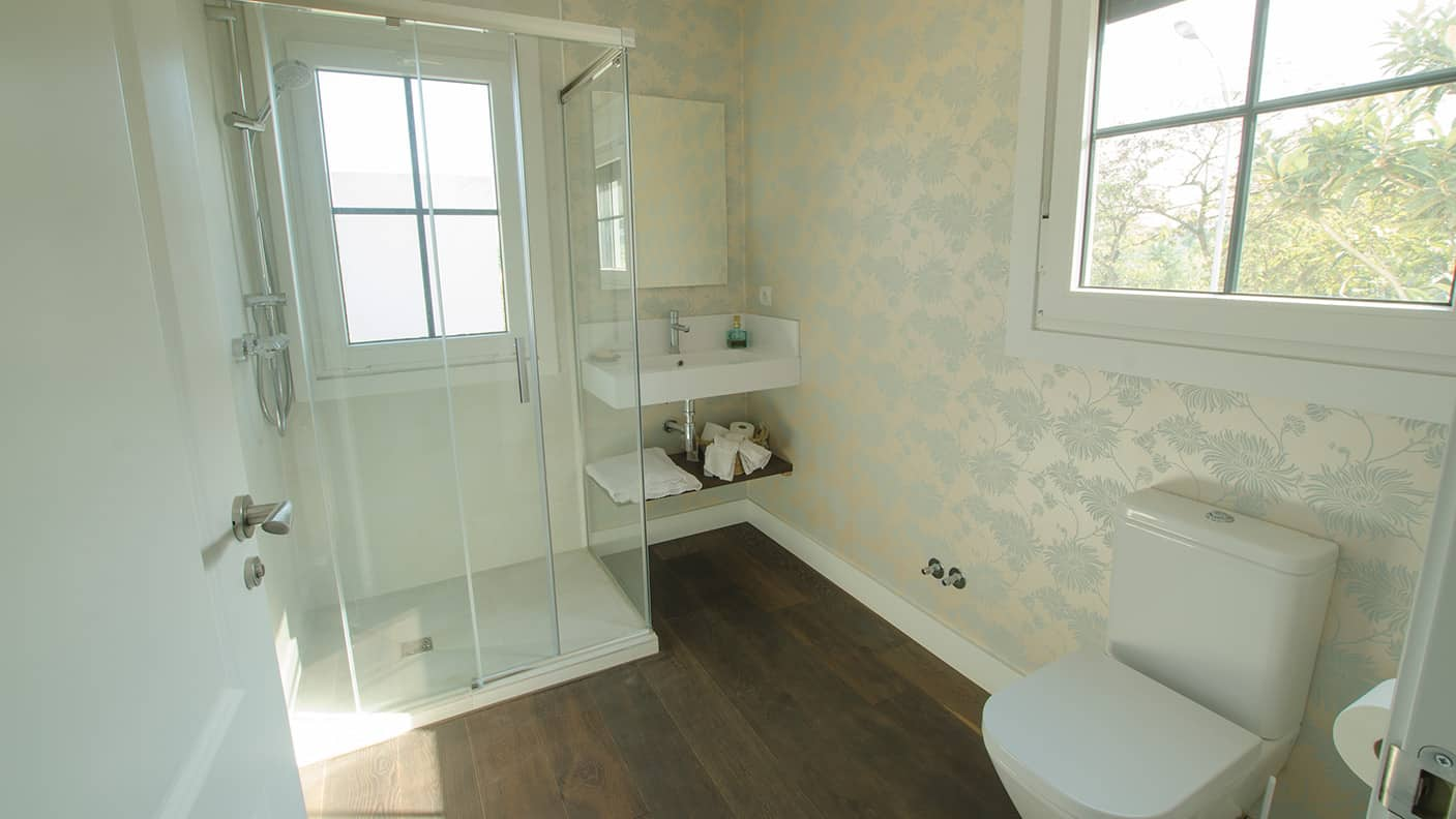 Casa hudson canexel - Cuartos de bano con ducha de obra ...