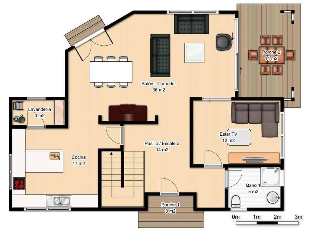Casa hudson canexel - Casas planta baja ...