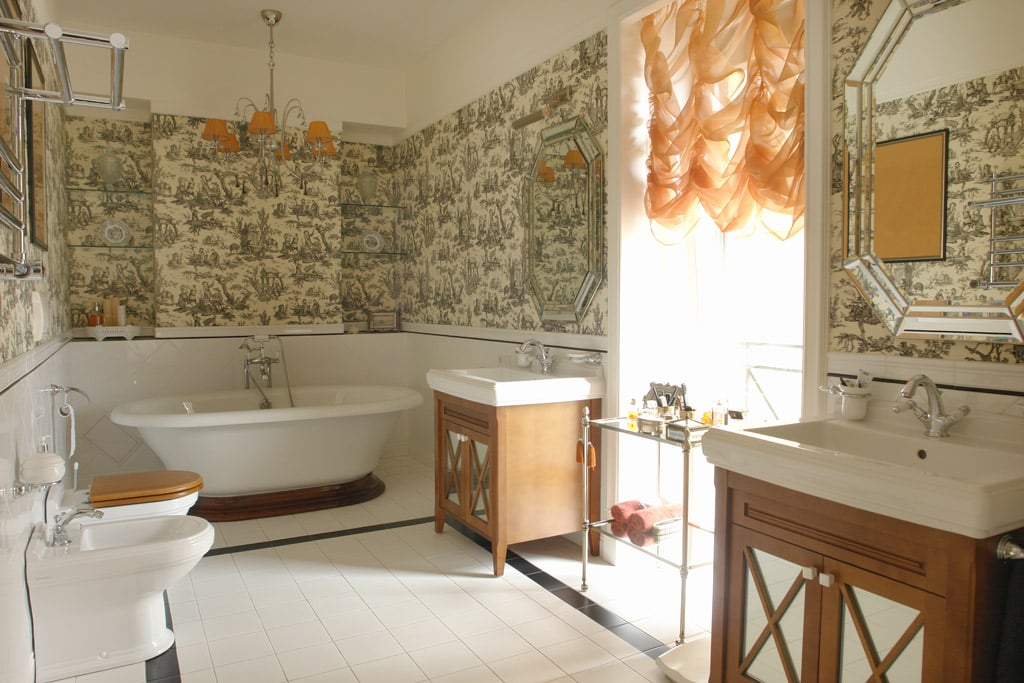 baño de estilo cottage