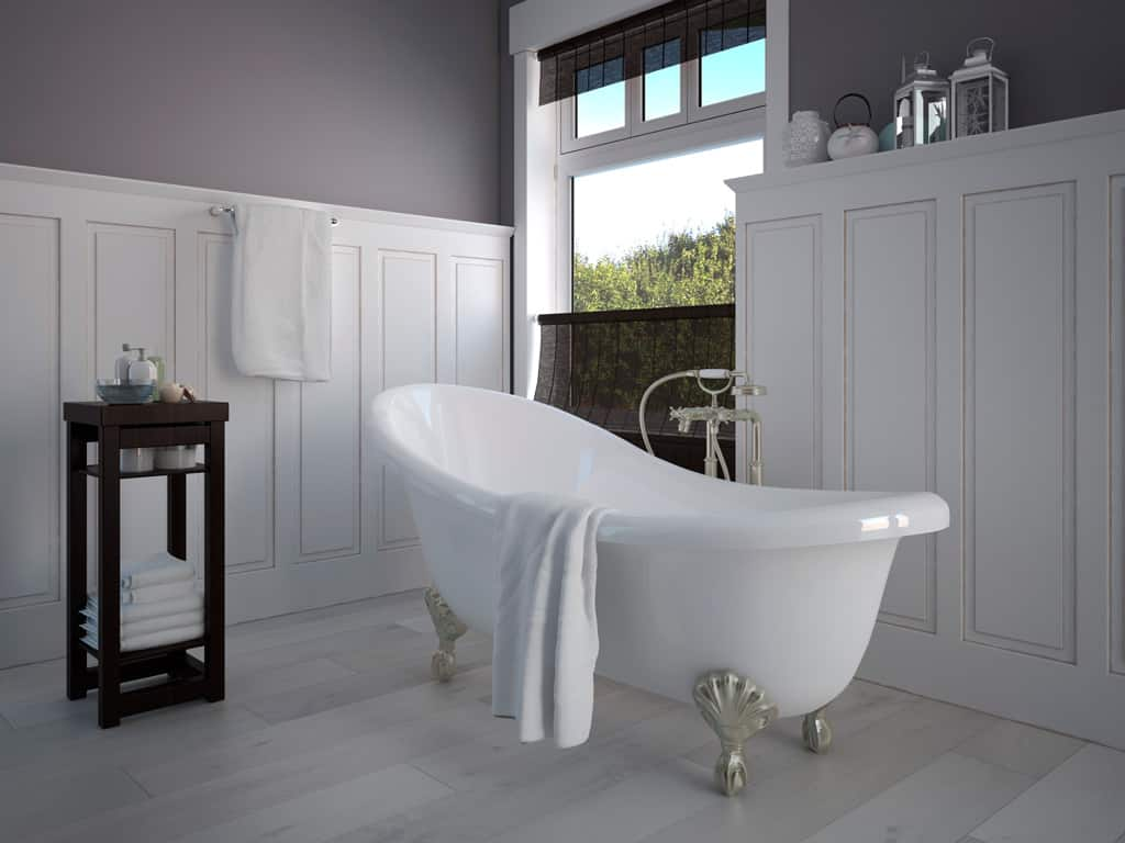 cuarto de baño cottage
