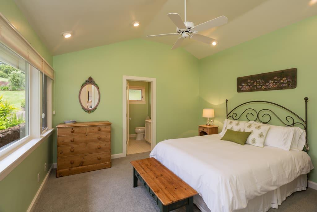 dormitorio cottage rústico