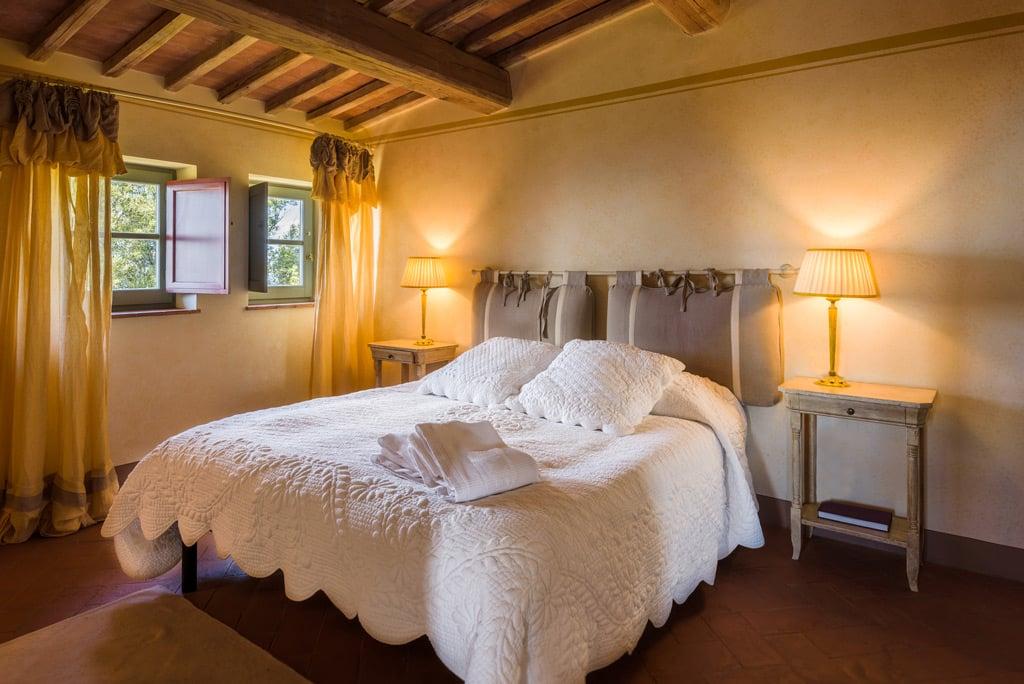 dormitorio rústico estilo cottage
