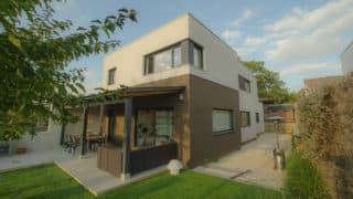 casa moderna cubierta plana