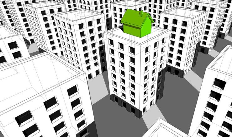 construir casas encima de edificios existentes