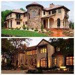 casas americanas inspiradas en la toscana