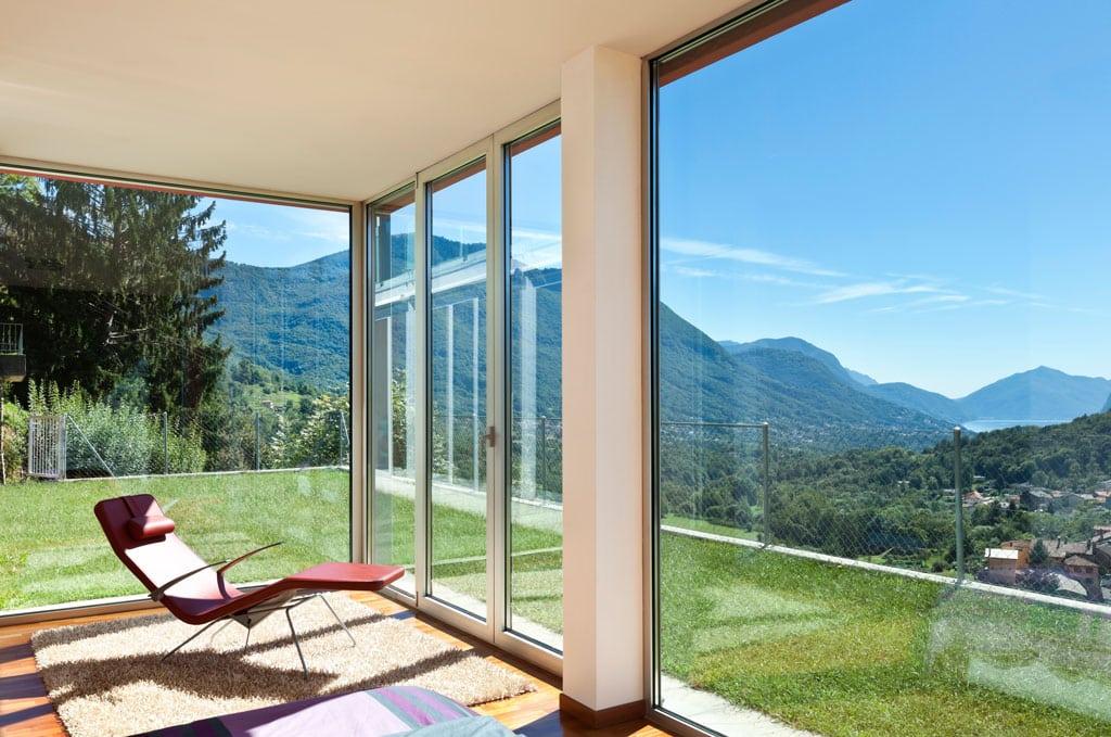 grandes ventanales en casa