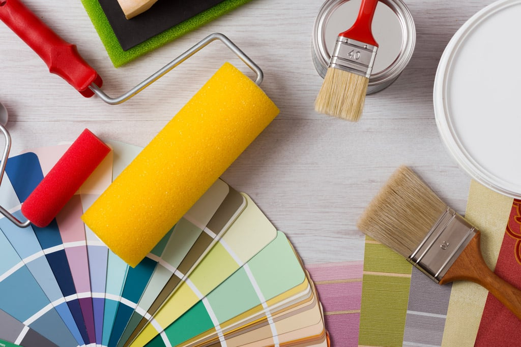 pinturas empleadas en la vivienda