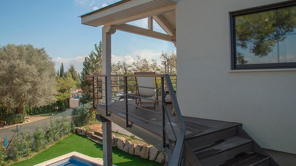 porche terraza composite