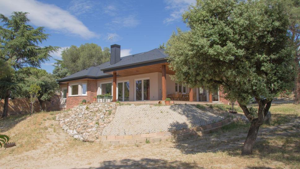 casa de madera Madrid