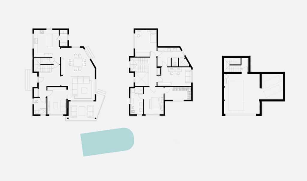 planos-vivienda unifamiliar a medida a-canexel-constructora-barcelona